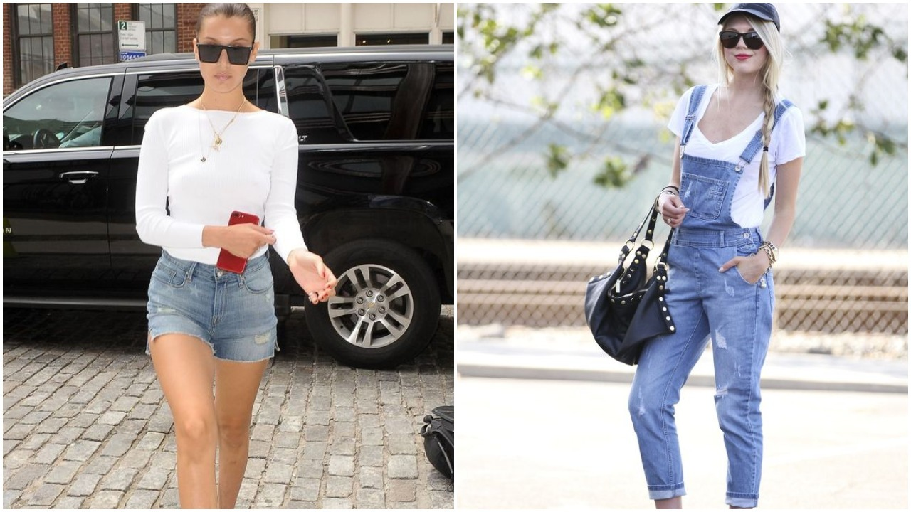 ways to style a basic white t-shirt
